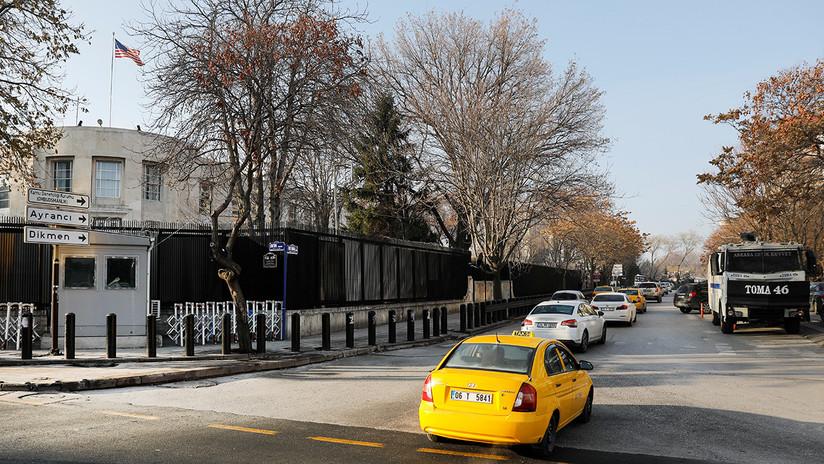 Turquía se burla de EE.UU. rebautizando la calle en que se sitúa su embajada