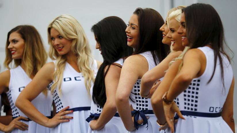 La indignación de una modelo con la F1 por prohibir las azafatas arrasa las redes