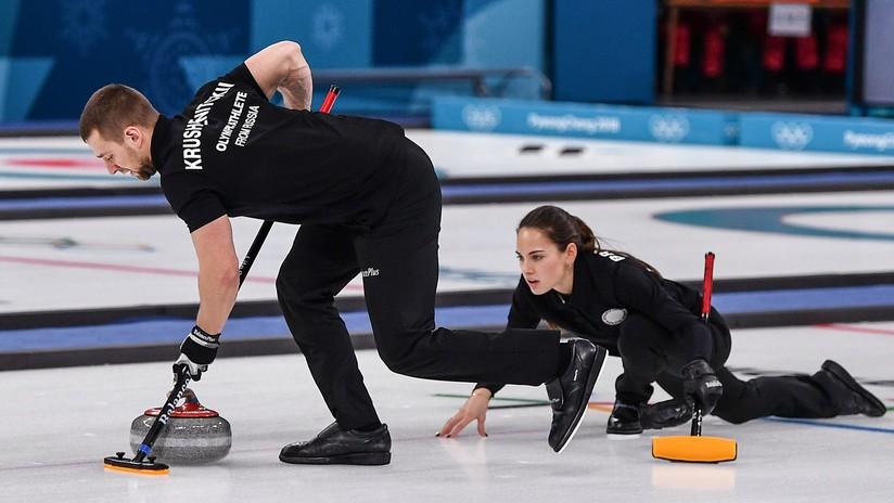 El equipo ruso de curling gana la primera medalla olímpica en la historia