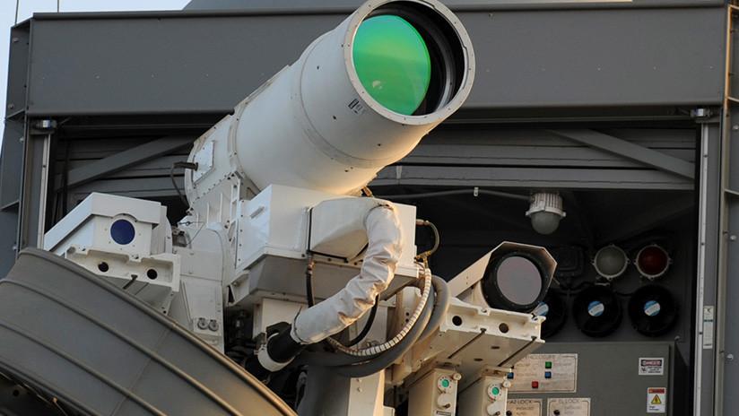 El Pentágono quiere probar un láser instalado sobre un dron para interceptar misiles
