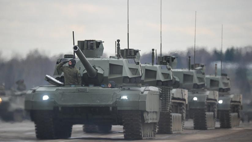 """El arma del tanque ruso Armata superará al """"súper cañón"""" soviético"""