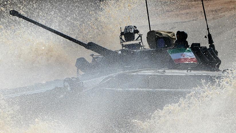 Irán moderniza sus carros de combate BMP-2 con misiles antitanque guiados por láser