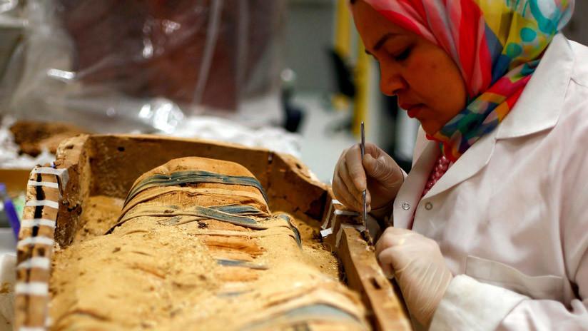 Revelan la identidad de la momia que pasó a la eternidad gritando de dolor