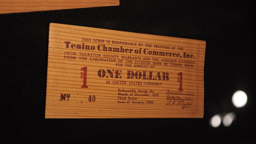 La pequeña ciudad estadounidense que imprime dinero de madera