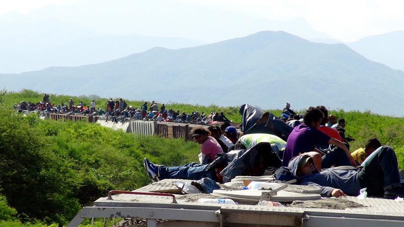 Las autoridades mexicanas detienen a más de 500 migrantes centroamericanos que se dirigían a EE.UU.