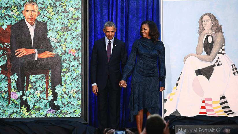 El extraño retrato de Obama provoca desconcierto en las redes