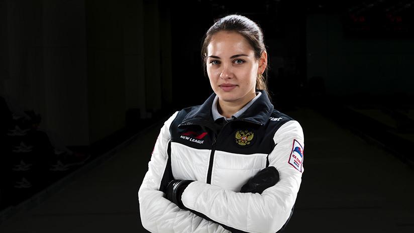 Así es la campeona rusa de curling que enamoró al mundo (FOTOS)