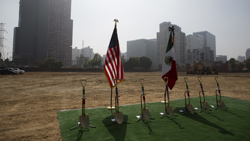 EE.UU. inicia la construcción de su embajada más costosa del mundo (FOTOS Y VIDEO)