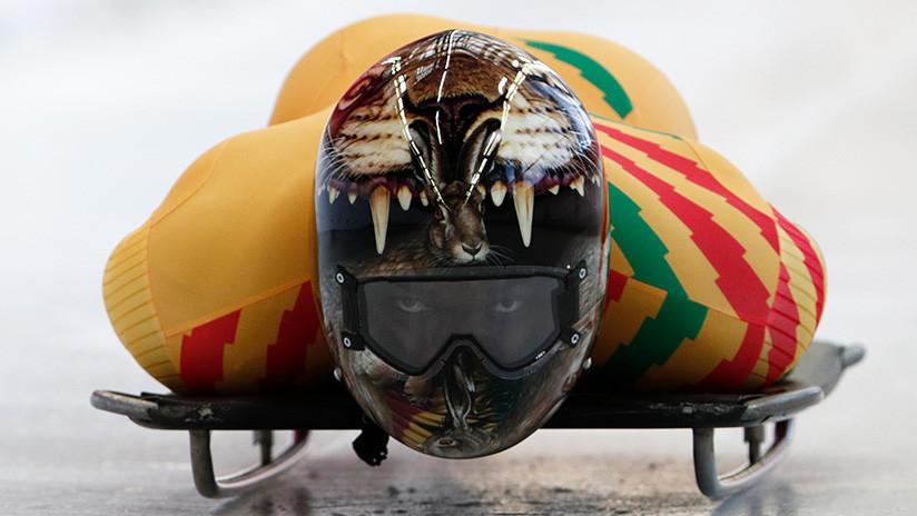 Un ghanés debió vender aspiradoras para poder competir en el skeleton olímpico