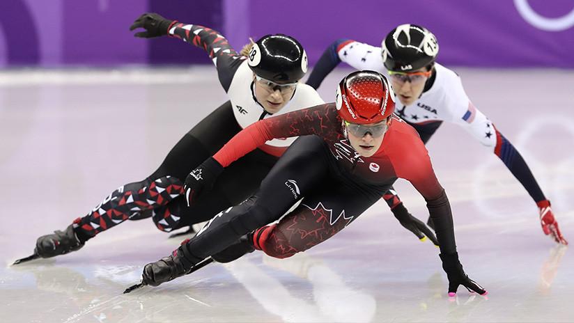 Patinadora canadiense es amenazada de muerte tras ganar una medalla en los JJ.OO. de Pyeongchang