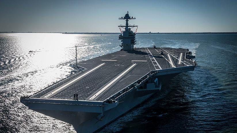 Medios: El nuevo 'superportaviones' de la Marina de EE.UU. no cumple tareas básicas
