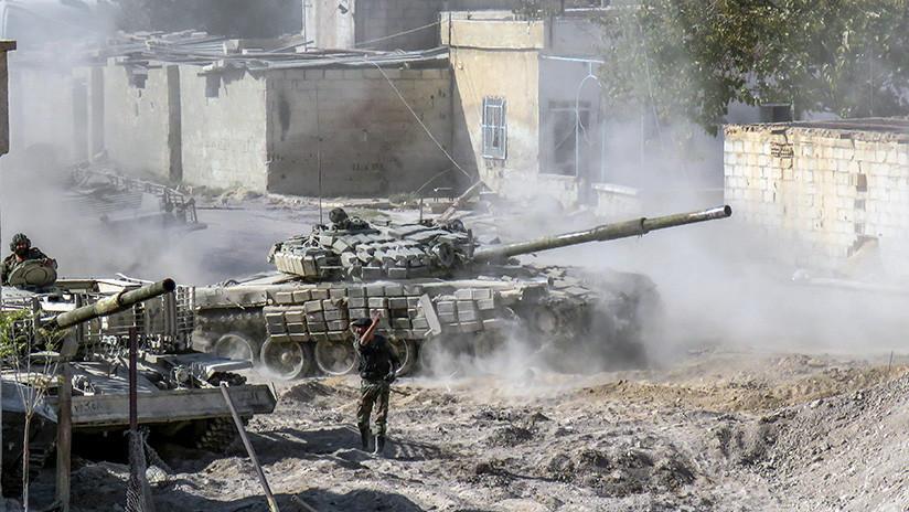 """Estados Unidos destruye otro tanque del Ejército sirio en """"defensa propia"""""""