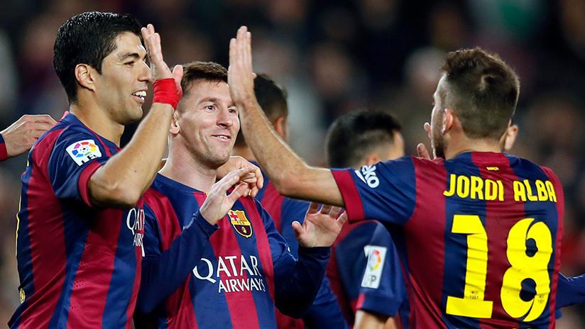 Un GIF de Lionel Messi, Luis Suárez y Jordi Alba se hace viral y desata un debate sociocultural