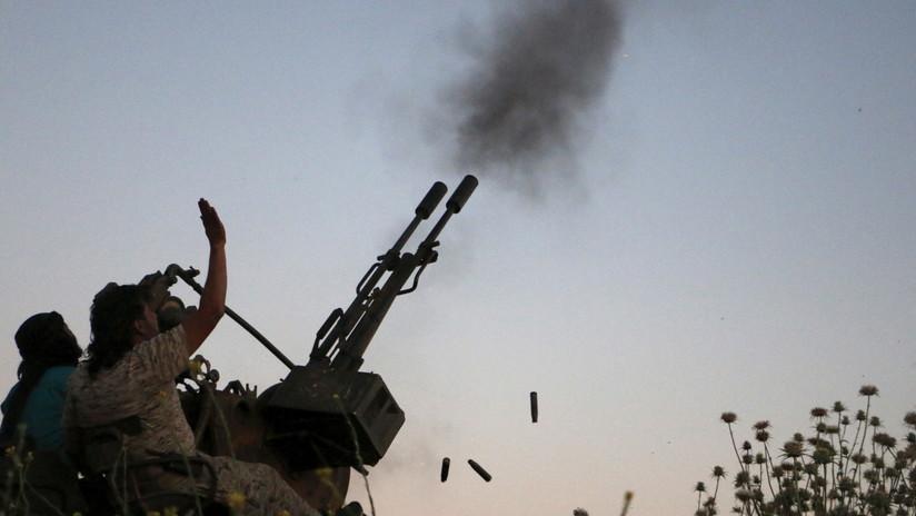 Sistema de defensa aérea de Siria repele un dron de vigilancia israelí en la frontera