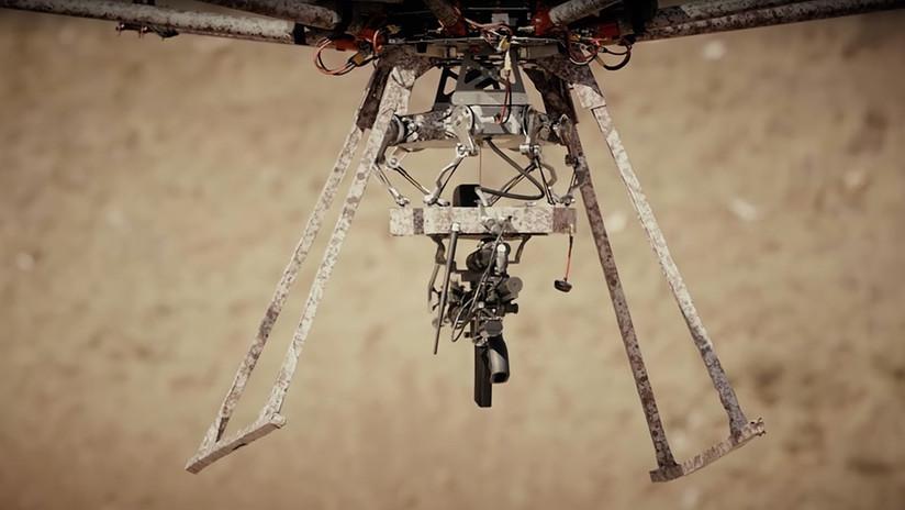 El dron TIKAD porta ametralladora y lanzagranadas para salvar vidas (VIDEO)