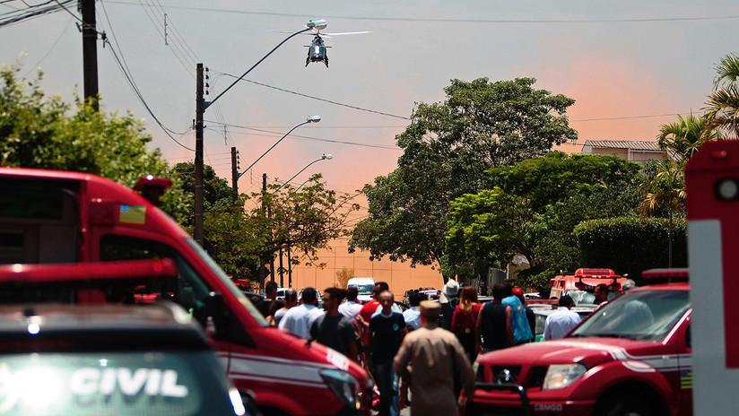 Al menos 7 muertos y decenas de heridos tras chocar un autobús con un camión en Brasil