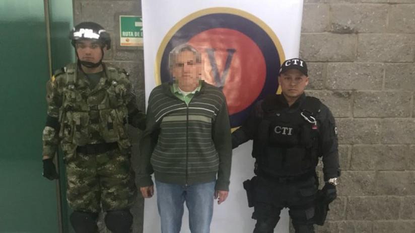 Colombia captura a alto dirigente del ELN, responsable de varios atentados (VIDEO)