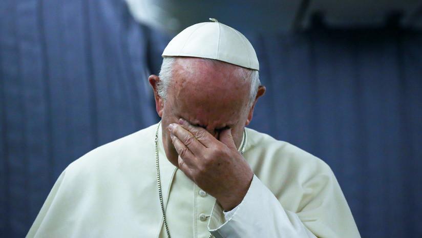 """""""Quedan destrozados"""": el papa Francisco asegura que se reúne con víctimas de abusos sexuales"""