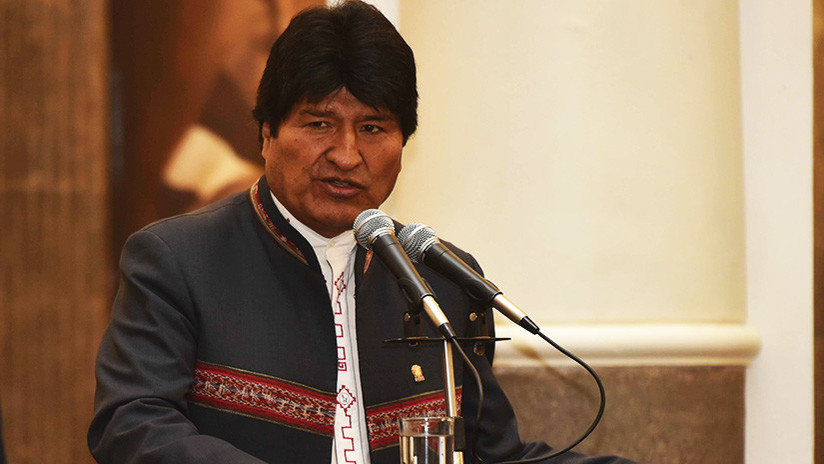 Evo Morales explica por qué EE.UU. amenaza a Venezuela con una intervención