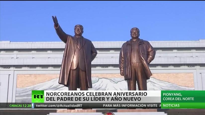 Corea del Norte celebra el aniversario de Kim Jong-il, predecesor y padre de Kim Jong-un