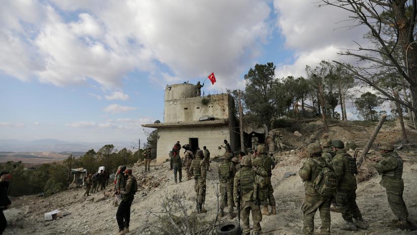 Fuerzas turcas usan gases tóxicos en Siria, varias personas han sido hospitalizadas