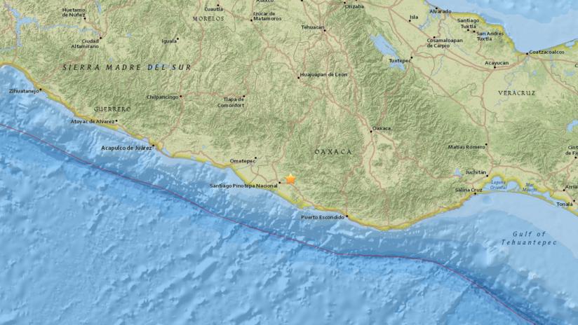 Sismo de magnitud 7,2 sacude el centro y sur de México