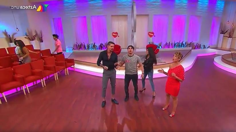 VIDEO: El momento exacto del sismo en México durante un programa de enamorados