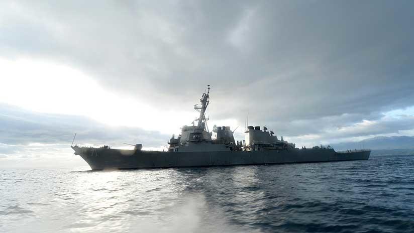 Un destructor de EE.UU. que bombardeó Siria con misiles Tomahawk entra en el mar Negro