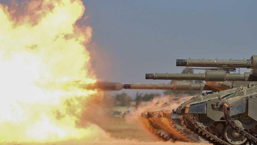 Bombardea Israel Franja de Gaza tras cuatro soldados propios heridos