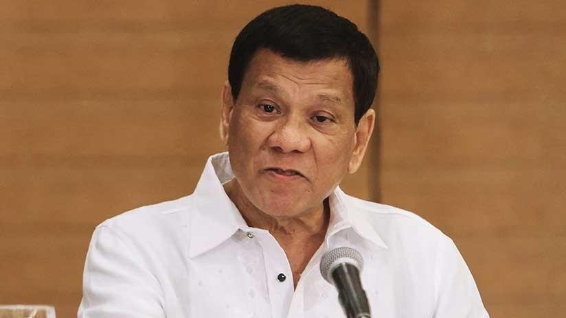 """""""No son placenteros"""": los condones, en el punto de mira del presidente filipino (VIDEO)"""
