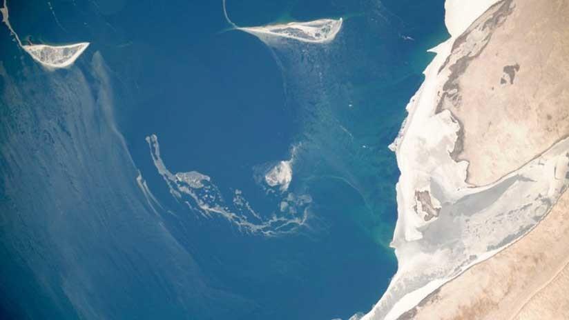 """La """"catastrófica"""" sequía de un lago que antaño fue uno de los más grandes del mundo (FOTO)"""