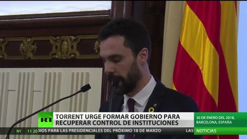Torrent urge formar Gobierno para recuperar control de instituciones