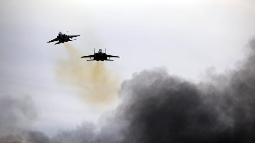 Israel bombardea posiciones de Hamas tras ataque a 4 soldados israelíes