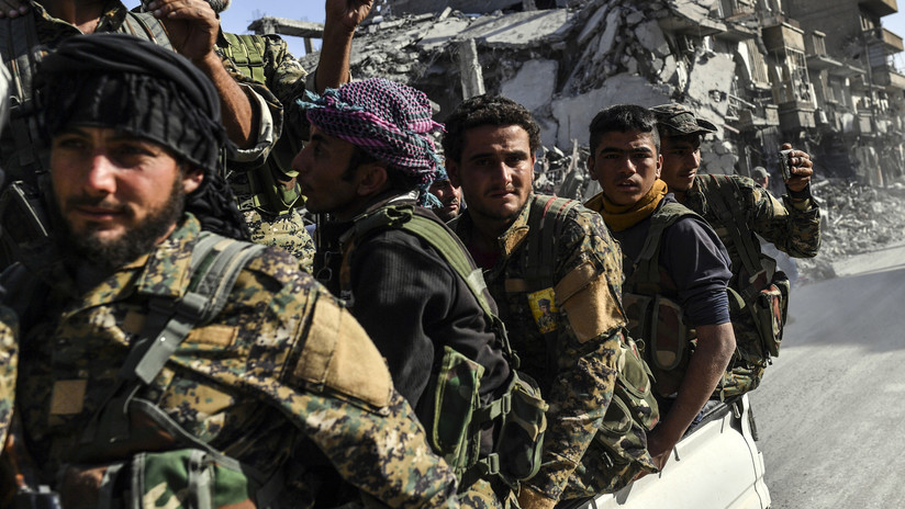 Las milicias kurdosirias atacan un campamento militar en Turquía