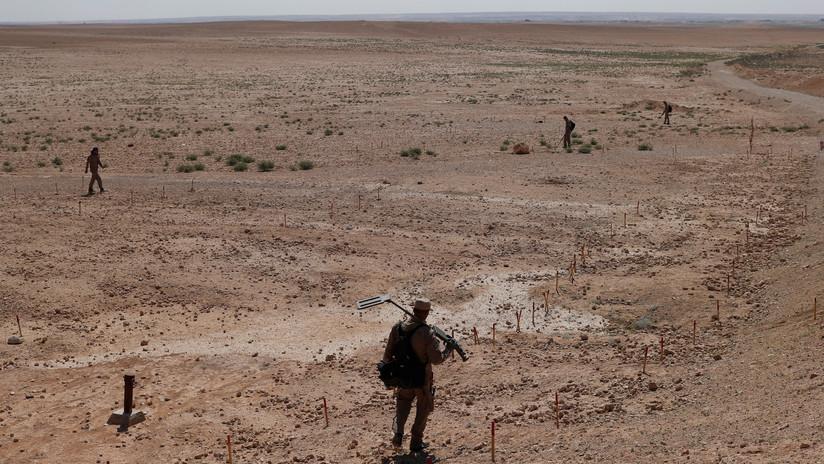 Minas de piedra: El Estado Islámico enseñó a otros yihadistas su arma secreta