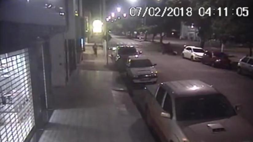 Mato Grosso: Ladrón es atropellado por sus cómplices tras un robo (FUERTE VIDEO)