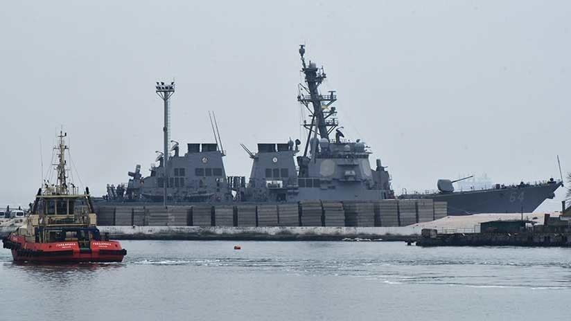 """Destructores de EE.UU. en el mar Negro: """"¿A quién piensan proteger y de quién?"""""""