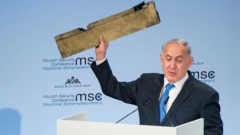 """""""¿Reconoce este dron?"""": Netanyahu 'trolea' a Irán y lo compara con la Alemania nazi (VIDEO)"""