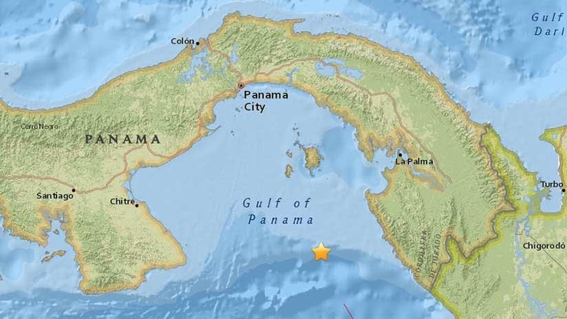 Se registra un sismo de 5,1 en Panamá