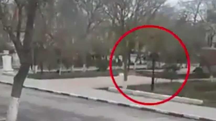 FUERTE VIDEO: Momento exacto del tiroteo mortal contra una multitud en el sur de Rusia