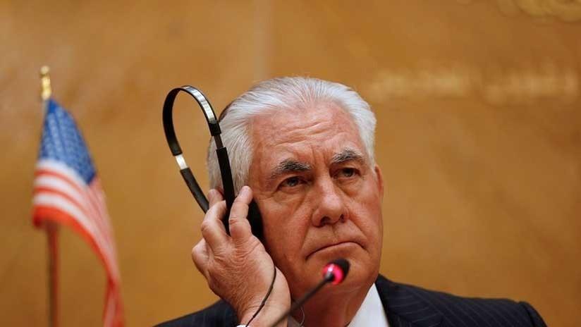 """Tillerson: """"Usaremos palos grandes y no zanahorias para llevar a Corea del Norte al diálogo"""""""