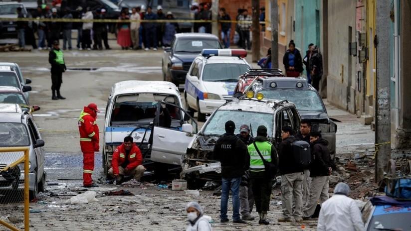 Frustran un tercer atentado tras las dos mortales explosiones en Bolivia en una semana