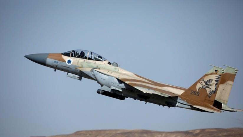 Israel realiza un ataque aéreo contra la Franja de Gaza en respuesta al lanzamiento de un cohete