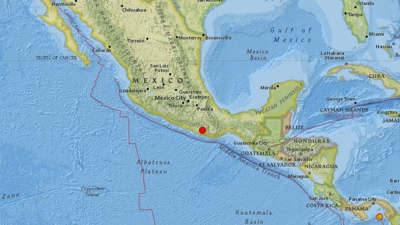México: Se registra un sismo de magnitud 6,0 en Oaxaca