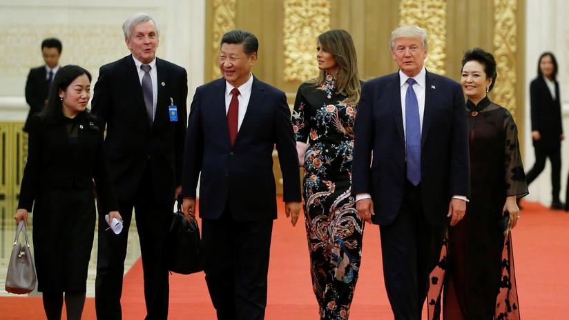 Oficiales de EE.UU. y China tuvieron una escaramuza por el maletín nuclear de Trump