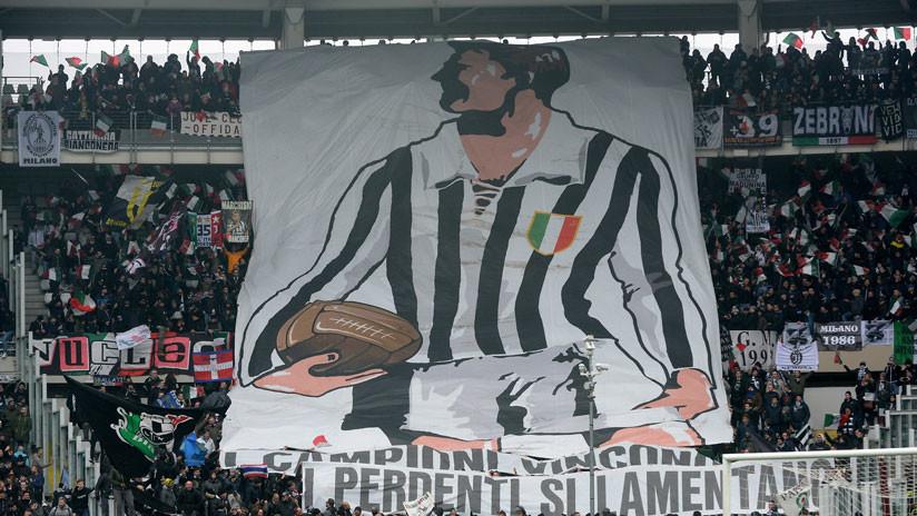 VIDEO: Arroja a un hincha rival desde una tribuna durante el partido entre Juventus y Torino