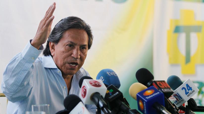 Justicia peruana solicita a EE.UU. la extradición del expresidente Alejandro Toledo