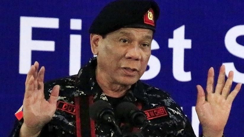 """El presidente de Filipinas sugiere que su país se convertirá en una """"provincia de China"""""""