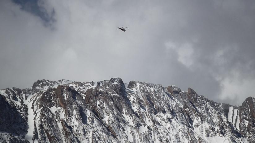 Hallan los restos del avión iraní siniestrado
