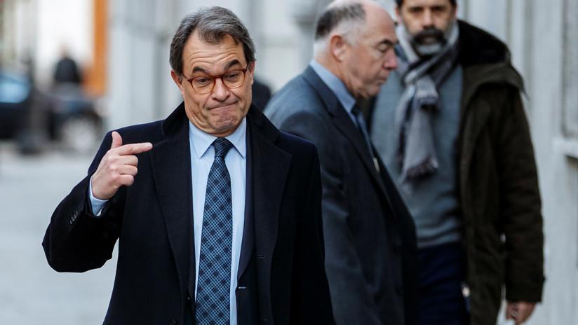 España: Libertad sin fianza para el exdirigente independentista Artur Mas